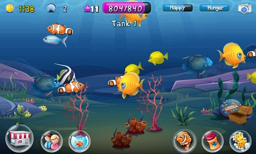 Interactive 3d Aquarium Live Wallpaper Fish Adventure 187 Android Games 365 Free Android Games