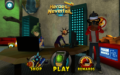 Level Up: Heroes of Neverfail