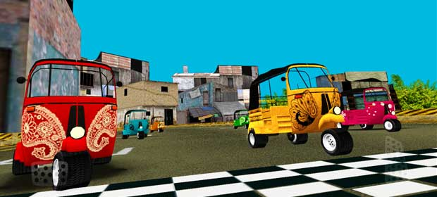 Temple Rickshaw Racing Run HD