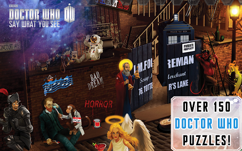 Doctor Who: Say What You See