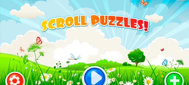 Scroll Puzzles for kids
