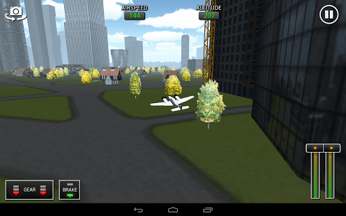 Flight Sim BeachCraft City
