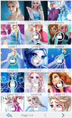 Frozen - Ice Snow Queen Puzzle