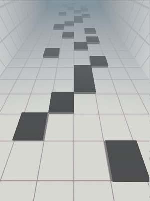 Don't tap the white tile 3D