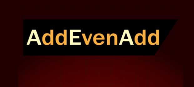 AddEvenAdd