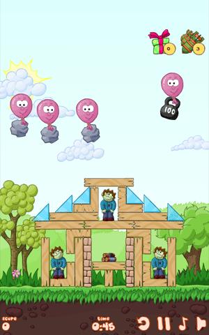 Helium Rush: Zombie Attacks