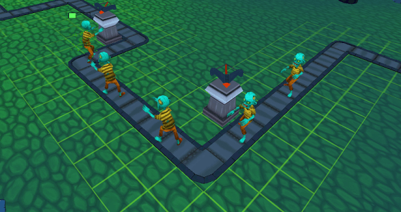 Tower defence - zombie war