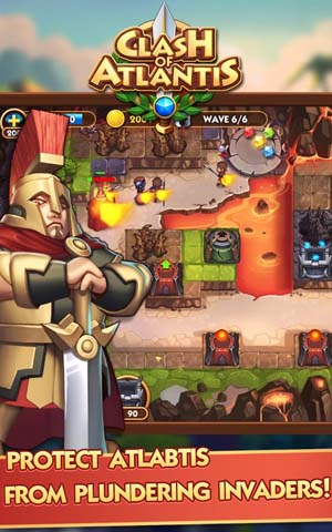 Clash Of Atlantis beta