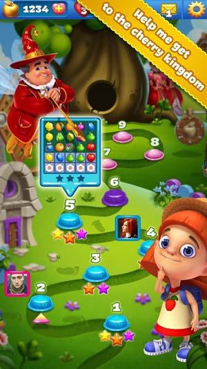Fruit Land match 3 for VK
