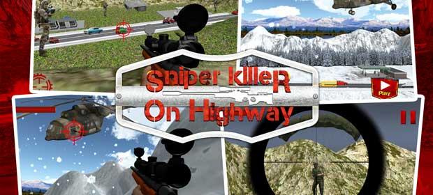 Sniper Killer on Highway
