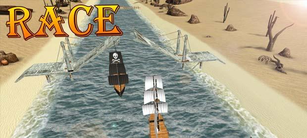 Turbo River Racing Ship 3D