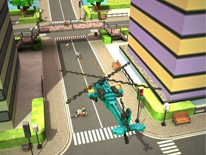Blocky Copter in Compton