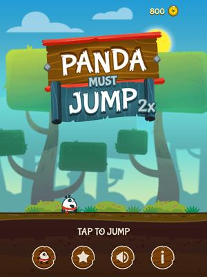 Panda Must Jump Twice