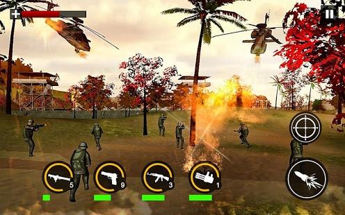 Modern Commando Combat Shooter