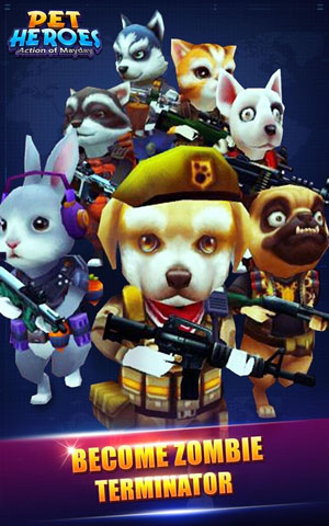 Action of Mayday: Pet Heroes