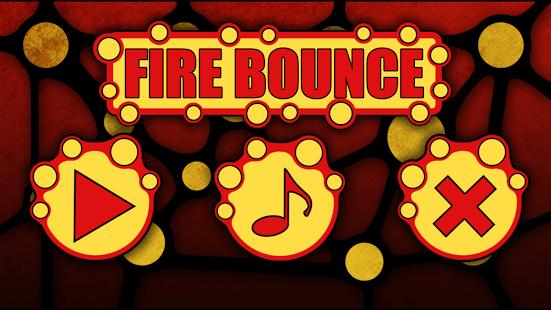 Fire Bounce 2D
