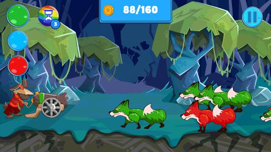 Fox Attack - Forest Soldier