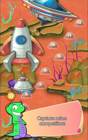 Digger Battle for Mars & Gems