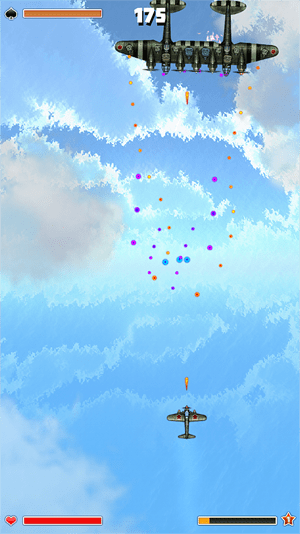 Plane Storm