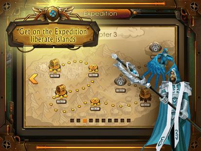 Atlantis: 3D war strategy game