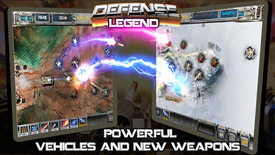 Defense Legend