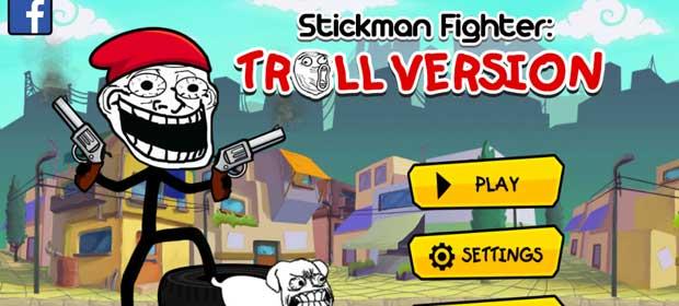 Stickman Fighter -Troll runner