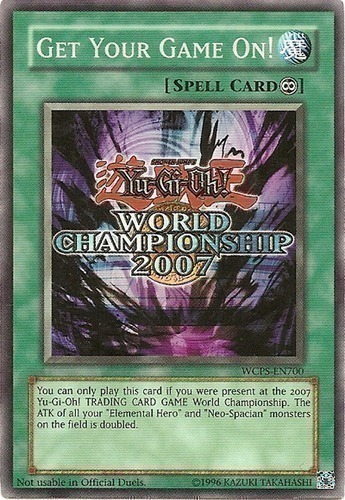 Yu-Gi-Oh! World Championship 2007 prize cards : YuGiOh Card Prices