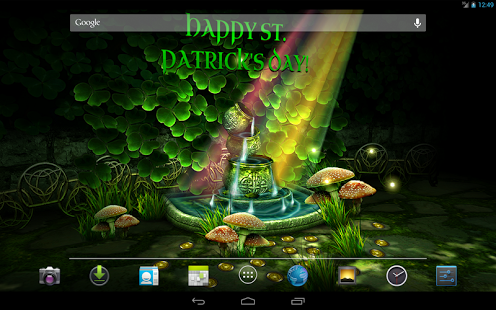 3d Fireflies Live Wallpaper Apk Celtic Garden Hd 187 Apk Thing Android Apps Free Download