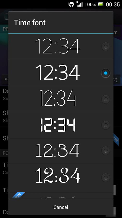 3d Background Wallpaper Apk Digital Clock Widget Xperia 187 Apk Thing Android Apps