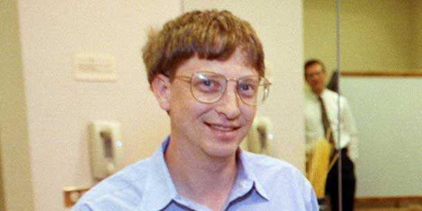 Bill Gates đã trở thành tỉ phú khi ông còn rất trẻ