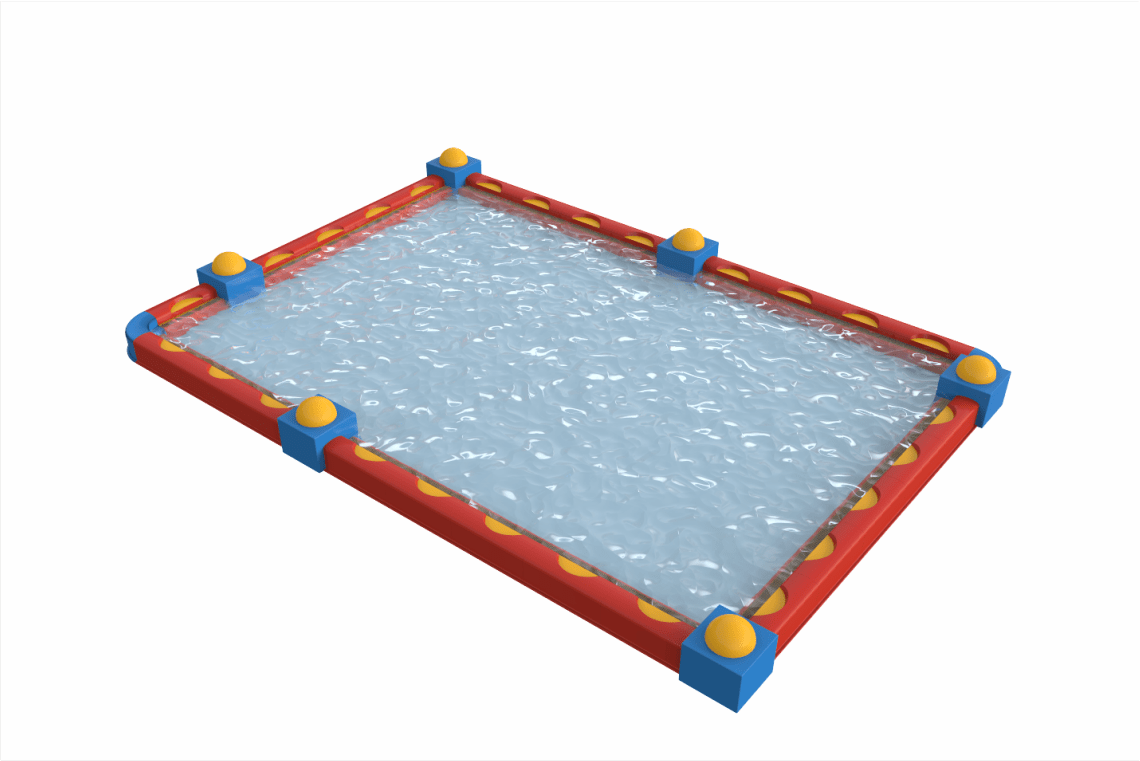 Gfk Pool Laminieren Buntes Kinderbecken Aquadrolics