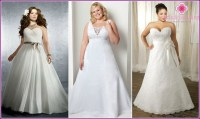 Wedding Dresses for obese women brides 2015 photo