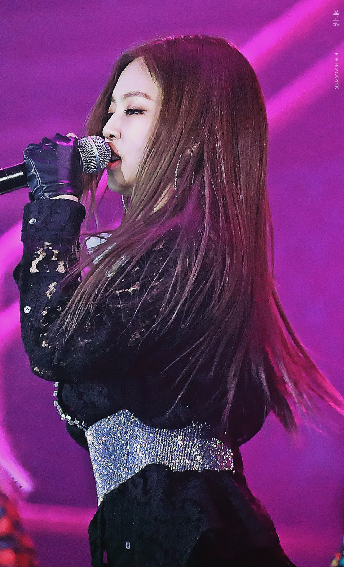 Download Black Wallpaper For Android Jennie Kim Android Iphone Wallpaper Asiachan Kpop Jpop