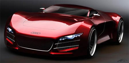 Oooo Car Wallpaper Audi R10 Supercar Volgens Zweedse Student Autoblog Nl