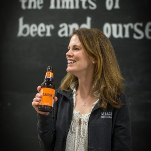 Naomi Neville, Photo Courtesy of Allagash Brewing Company