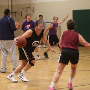 Deb Smith Women over 50 Maine basketball