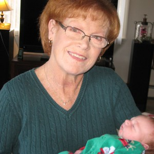 Ellen Munson after 2nd transplant with grandson