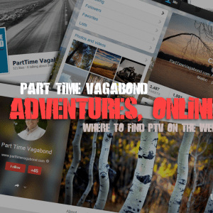 Where to find Part Time Vagabond on the web