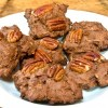 bourbon pecan chocolate drop cookies