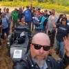 Taking my own picture with a gang of ATV riders somewhere in the woods of Hollis on Ural National Rally Day. Troy R. Bennett | BDN