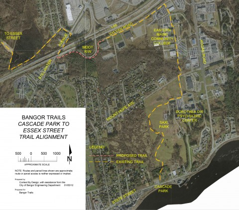 A federal grant will help to complete a more-than-3-mile recreational trail from Cascade Park to Stillwater Avenue.
