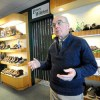 "Jim Wellehan talks about how shoes have changed over the 100 years since Lamey-Wellehan opened in Lewiston. ""Boat shoes used to be boat shoes. Now they come in colors like blue,"" said Wellehan."