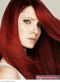 Pictures : Red Hair Color Shades - Light Burgundy Red Hair ...