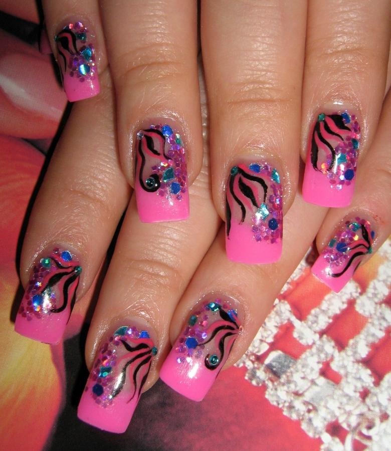 Cute Girly Nail Designs