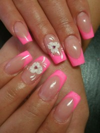 Colorful French Nail Art Designs 2011   Makeup Tips and ...