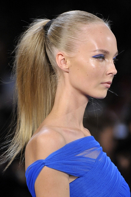 Li S To Flirty Runway Inspired Hairstyles For 2012.