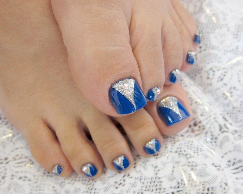 Pedicure E Nail Art Designs