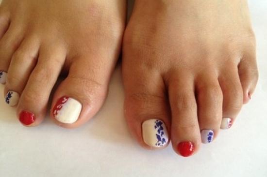 Cool Pedicure Nail Art Ideas For Fall
