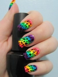Colorful and Fun Nail Art Ideas 2012.