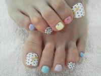Cool Toe Nail Art Designs.